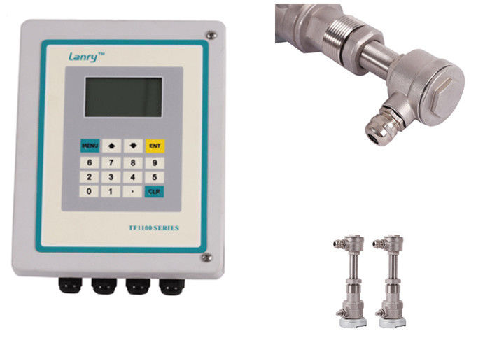 Inserted Type Transit Time Flow Meter TF1100-EI With High Temperature Sensor